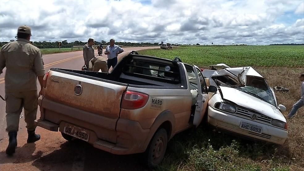 As causas do acidente ainda devem ser investigadas (Foto: Antônio Cesar/TV Centro América)