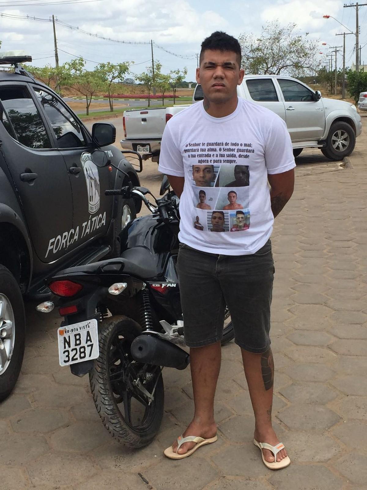 Suspeito de assaltos em Boa Vista é preso com drogas e moto adulterada