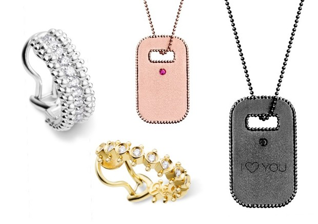 Joias da coleção de Dia dos Namorados da Carla Amorim (Foto: Divulgação/montagem Vogue)