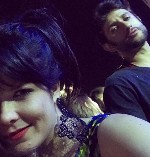 Samara Felippo e Elídio Sanna (Foto: Reprodução/Instagram)