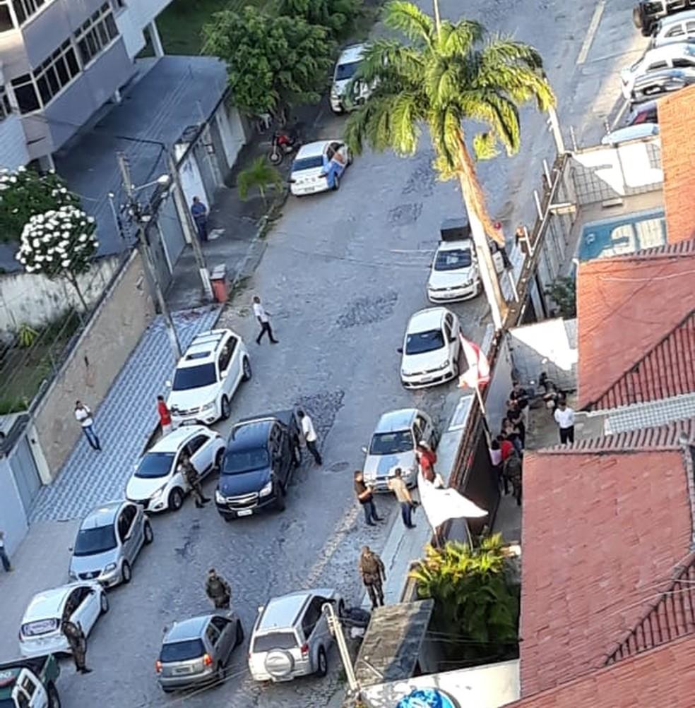 Ação aconteceu nesta sexta-feira (27), no comitê da candidata Fátima Bezerra (PT), em Natal — Foto: Redes Sociais