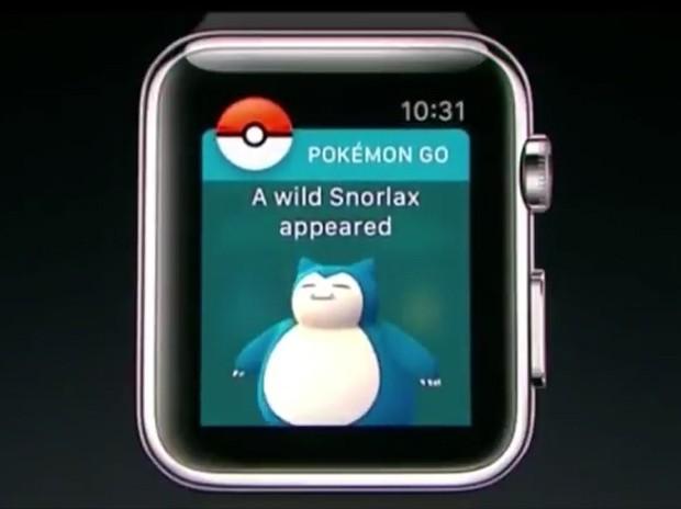 Pokémon Go para Apple Watch (Foto: Divulgação / Apple)