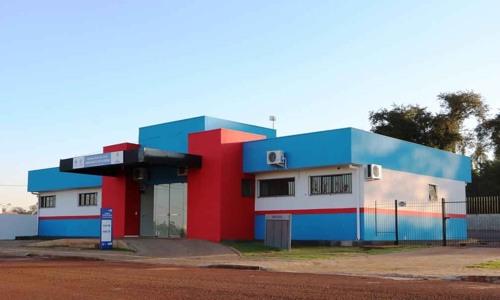 Unidade Básica de Saúde teve parte da estrutura construída em um terreno particular em Palotina  (Foto: Divulgação/Prefeitura de Curitiba )