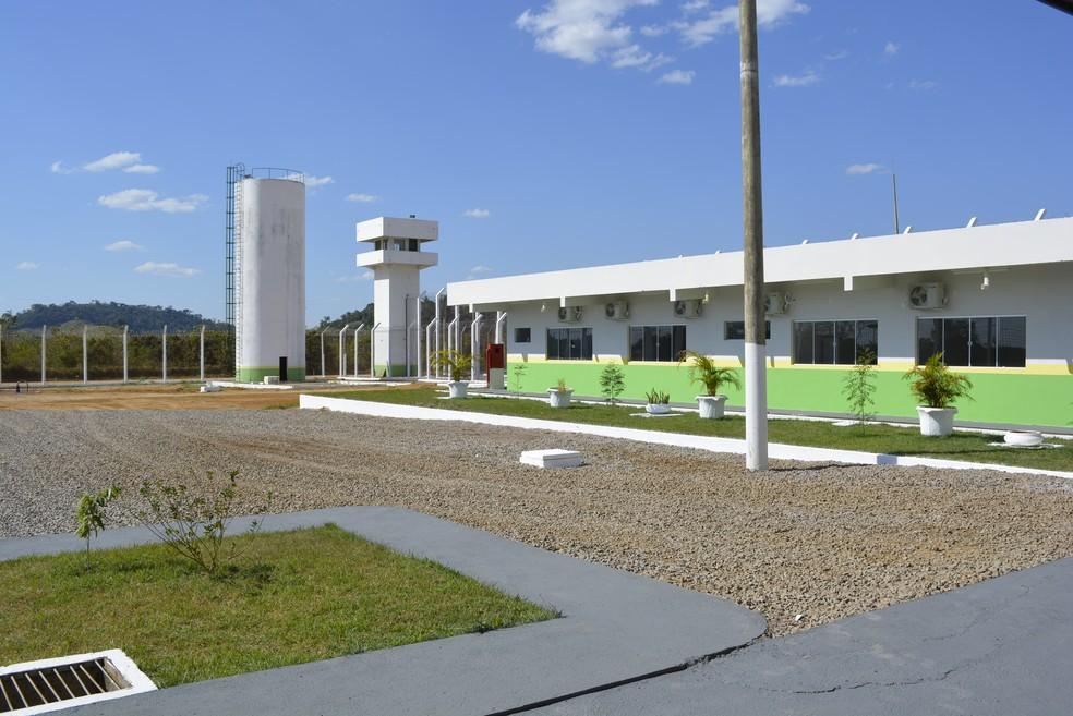 Centro de Ressocialização de Ariquemes foi inaugurado em julho (Foto: Diêgo Holanda/G1)