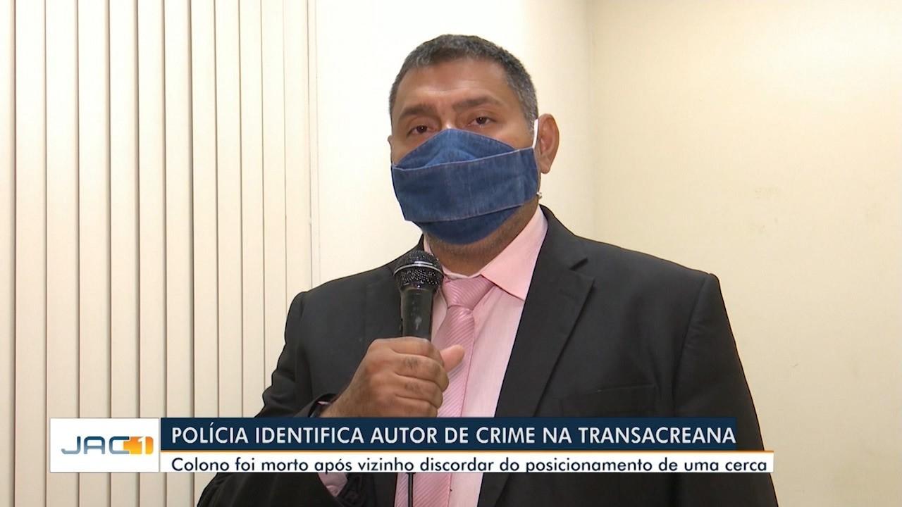 Polícia identifica autor de crime na Transacreana