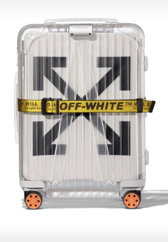 A mala Rimowa x Off-White de Zoe Sato Nagle (Foto: Divulgação)