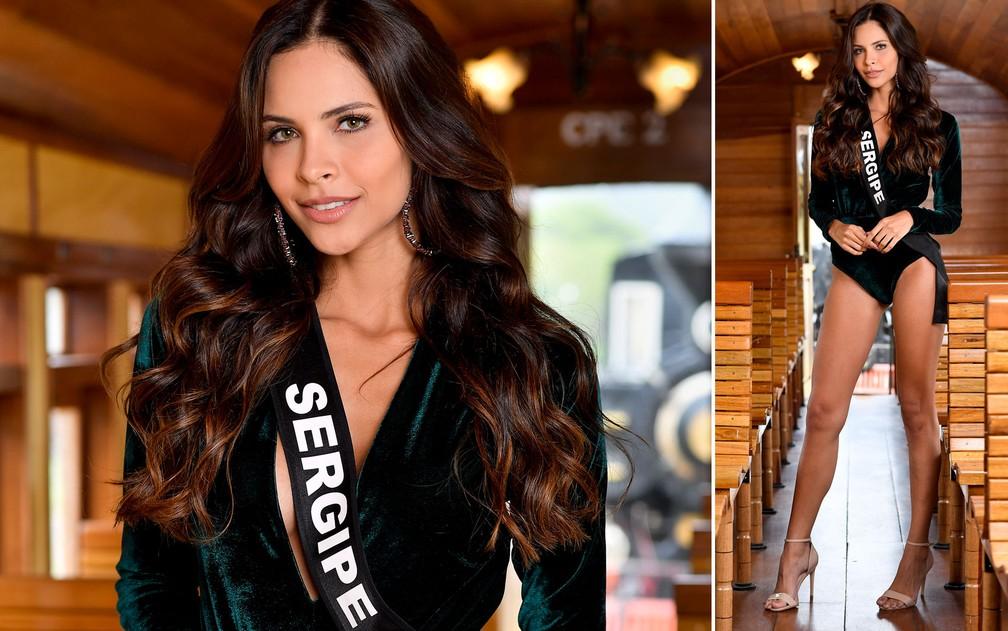 Ingrid Morais, 24 anos, modelo, é a Miss Sergipe — Foto: Rodrigo Trevisan/Divulgação/Miss Brasil