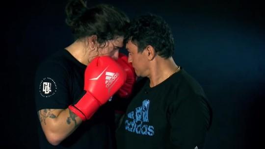Whindersson Nunes treina com Popó e conta como o boxe o ajudou na luta contra a depressão