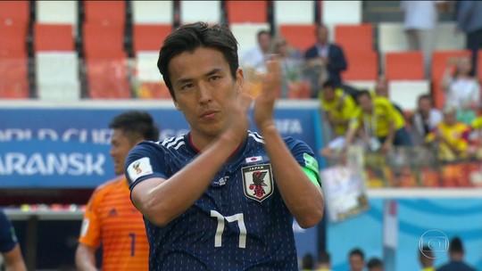 Japão consegue vitória histórica sobre a Colômbia: 2 x 1