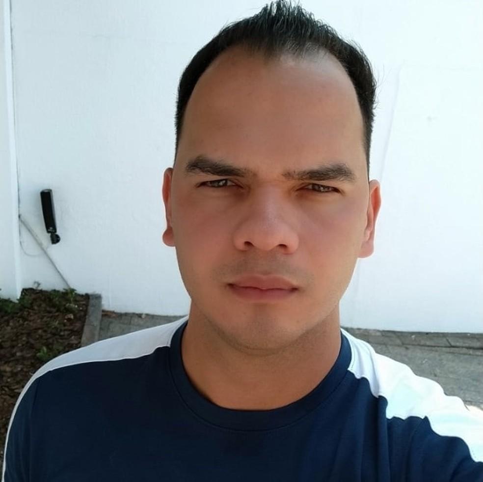 Oacy da Silva Taques Neto era soldado da PM — Foto: Facebook/Reprodução