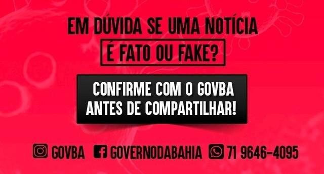 Lei que prevê multa de até R$ 20 mil por disseminação de fake news é sancionada na Bahia