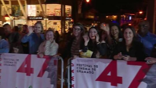 Serra gaúcha recebe a 47ª edição do Festival de Cinema de Gramado