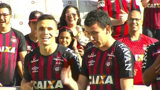 Assista aos gols da vitória do Atlético-PR sobre o  Paraná Clube