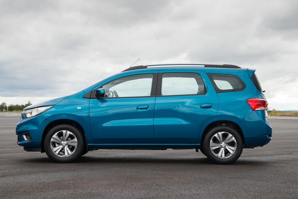 Chevrolet Spin 2019 — Foto: Divulgação