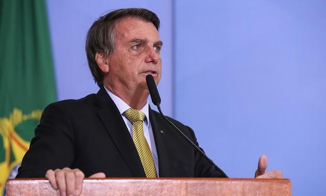 O presidente Jair Bolsonaro 29/06/2021
