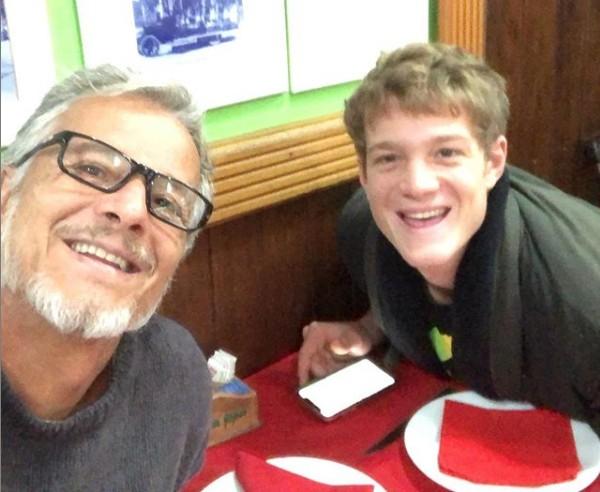 Pedro Novaes com o pai, Marcello Novaes (Foto: Reprodução/ Instagram)