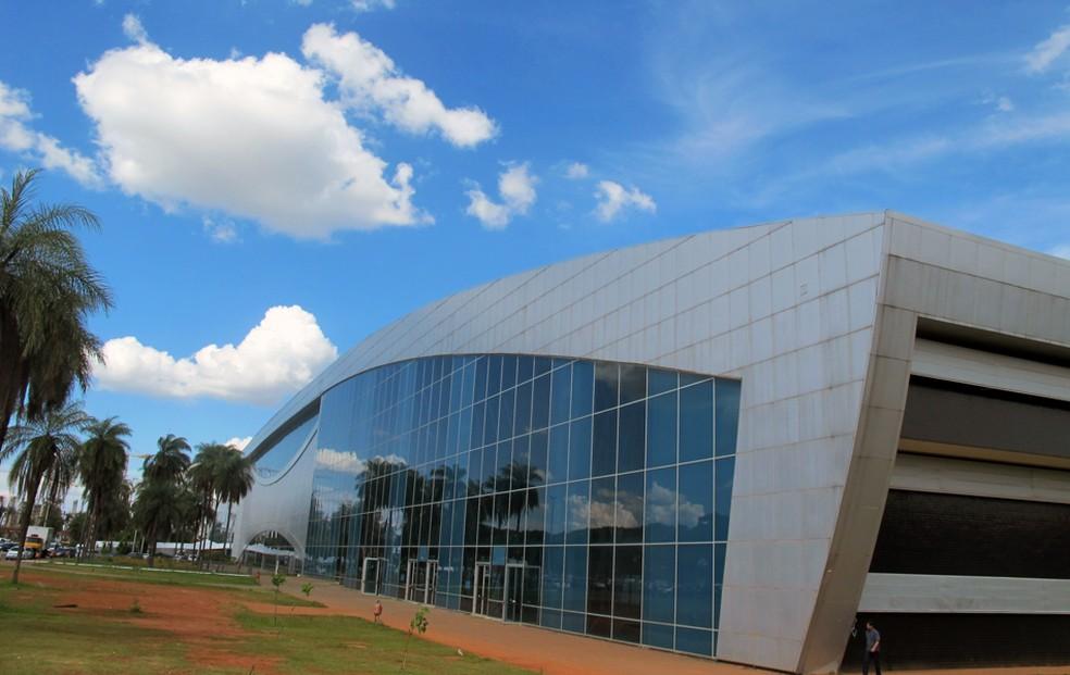 Centro de Convenções Ulysses Guimarães, em Brasília (Foto: G1 )