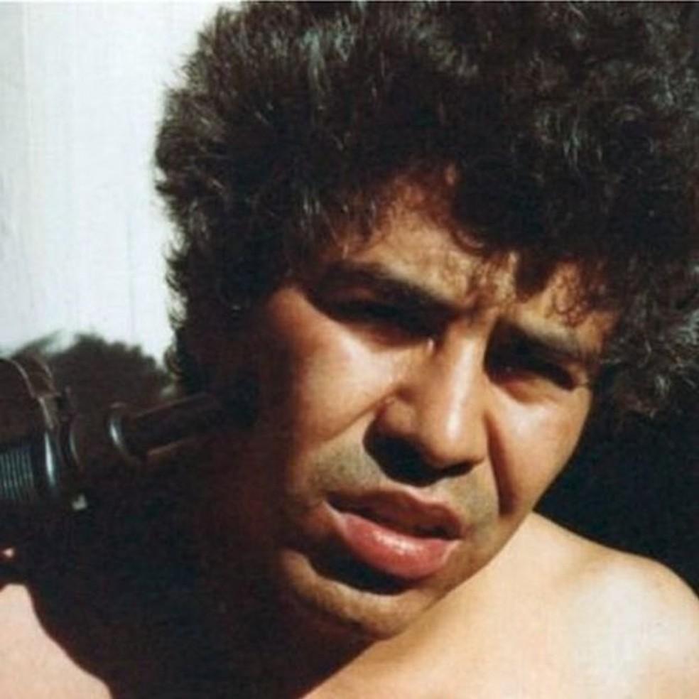 Rafael Caro Quintero foi preso em 1985 na Costa Rica — Foto: DEA/BBC