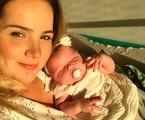 Tatyane Goulart com a filha, Catarina | Arquivo pessoal