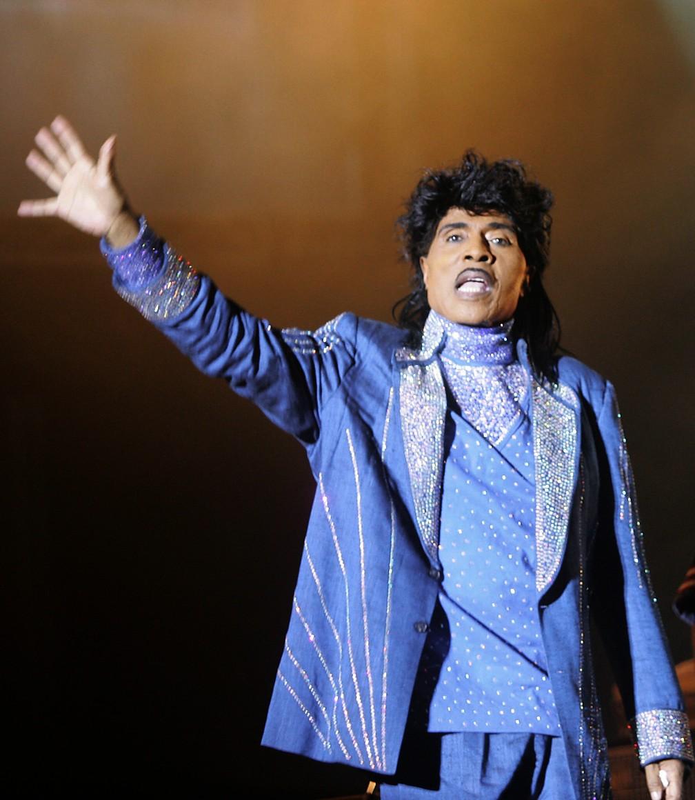 Little Richard, em foto de julho de 2006 — Foto: Andre Durand/AFP/Arquivo