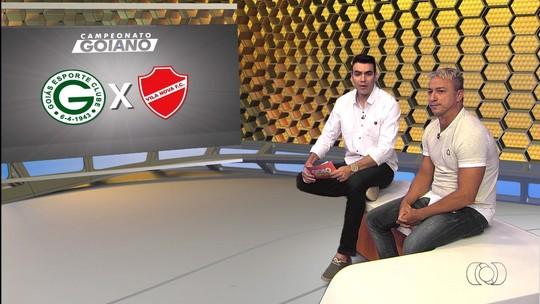 Paulo Nunes estreia como comentarista no clássico entre Goiás e Vila Nova