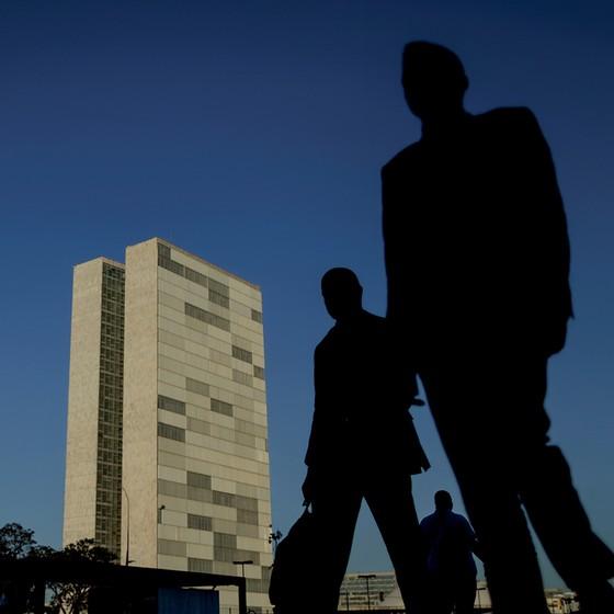 Depois do dia 7 de abril, a Esplanada dos Ministérios em Brasília estará repleta de nomes desconhecidos (Foto: Ueslei Marcelino/Reuters)