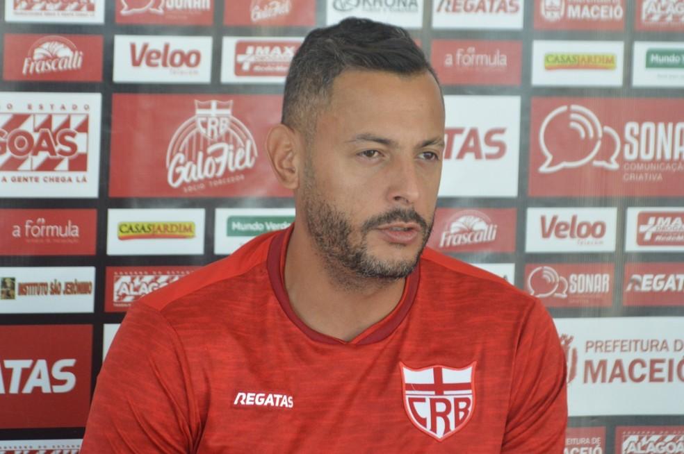 Fernando Henrique, goleiro do CRB — Foto: Gustavo Henrique/Ascom CRB