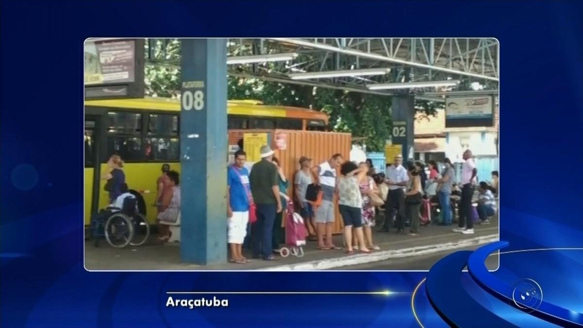 Sistema de cartões do transporte coletivo de Araçatuba fica fora do ar