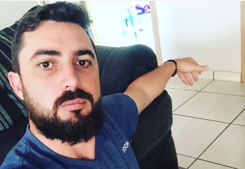 Jackson Furlan é suspeito de matar Júlia Barbosa — Foto: Reprodução