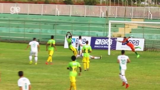 Formosa derrota Samambaia e garante a segunda vitória seguida no Candangão