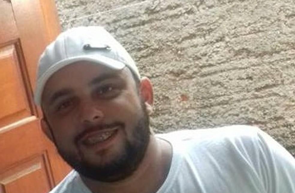 Willians Maciel vai a júri por matar com pedrada o caminhoneiro José Batistela — Foto: Arquivo pessoal