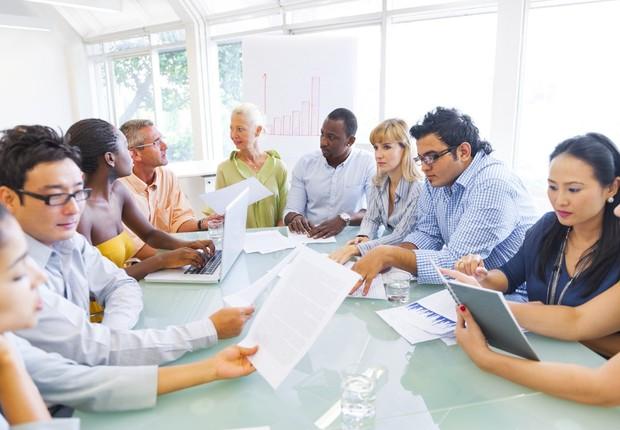 Diversidade no trabalho ; inclusão no trabalho ; carreira ; pensar diferente ; ambiente inclusivo ;  (Foto: Thinkstock)