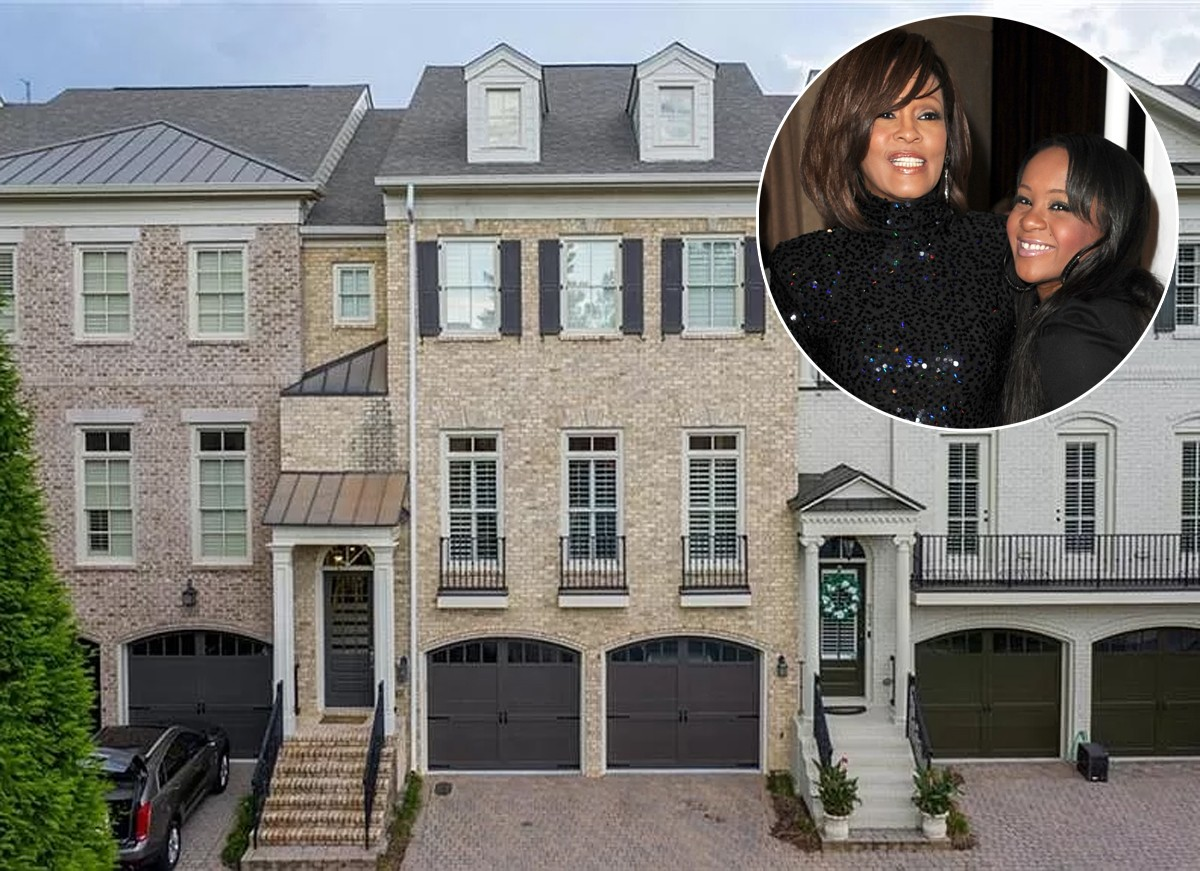 Casa de Bobbi Kristina, filha de Whitney Houston, é colocada à venda (Foto: Reprodução / Zillow e Getty Images)