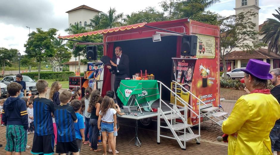Marcelo Labarrere em uma de suas apresentações (Foto: Divulgação)