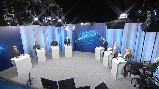 Candidatos ao governo do Paraná participam de debate na RPC