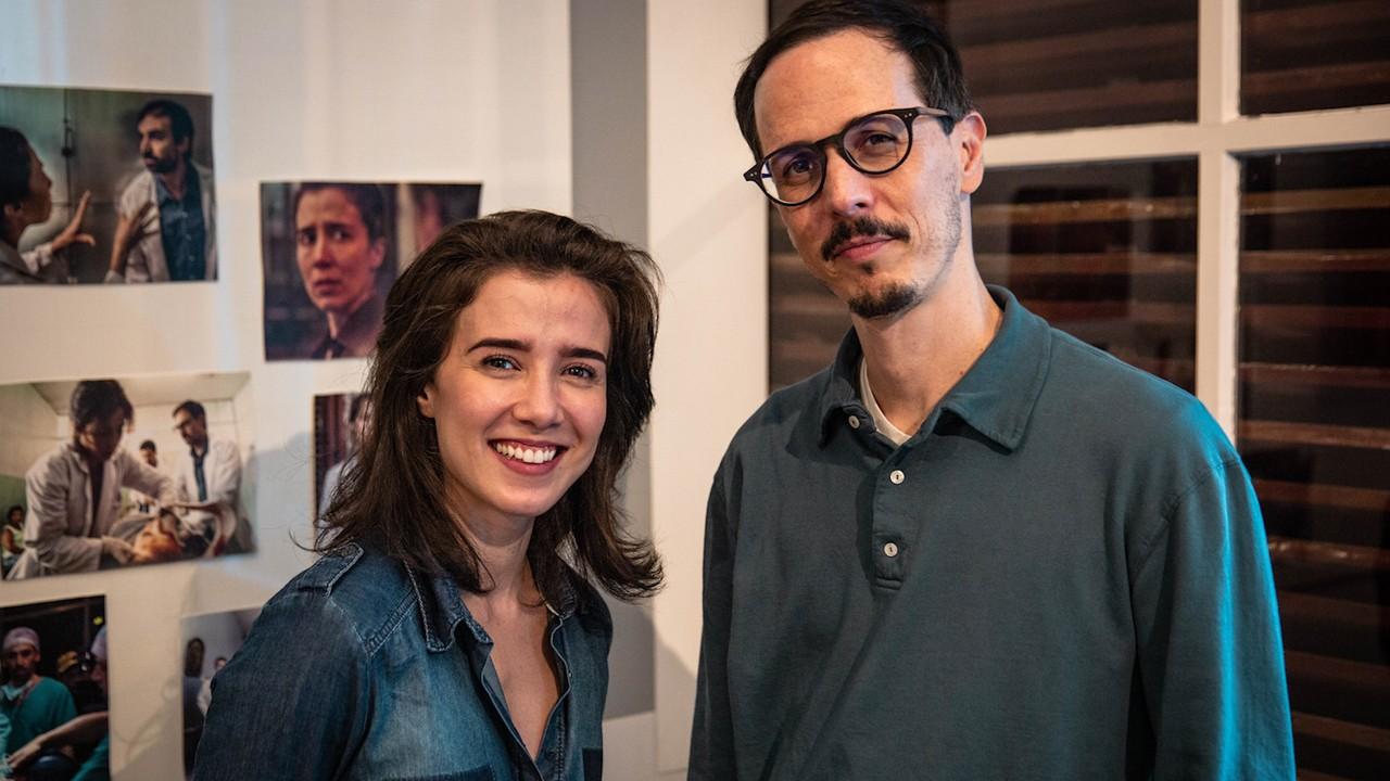 'Sob Pressão': Marjorie Estiano e redator final Lucas Paraizo confirmam quarta temporada