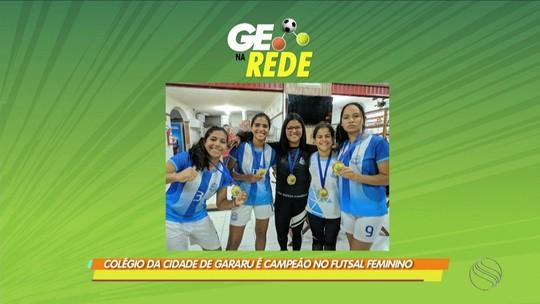 Colégio da cidade de Gararu conquista título no futsal feminino dos Jogos Escolares