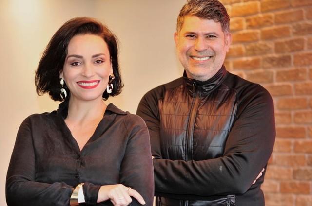 Cacau Hygino com Suzana Pires (Foto: Yuri Graneiro)