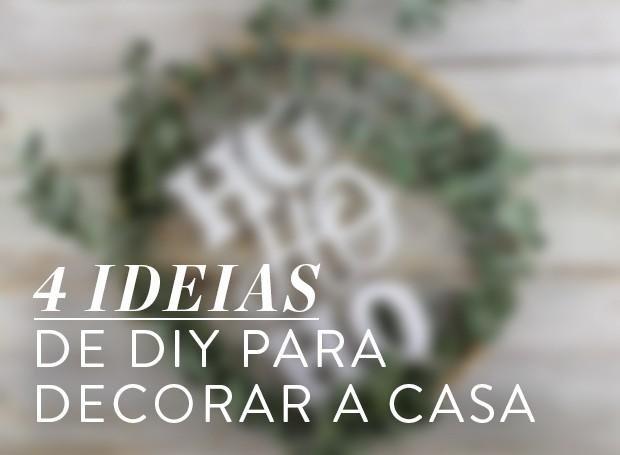 Especial Natal 4 ideias de DIY para decorar a casa (Foto: Casa e Jardim)