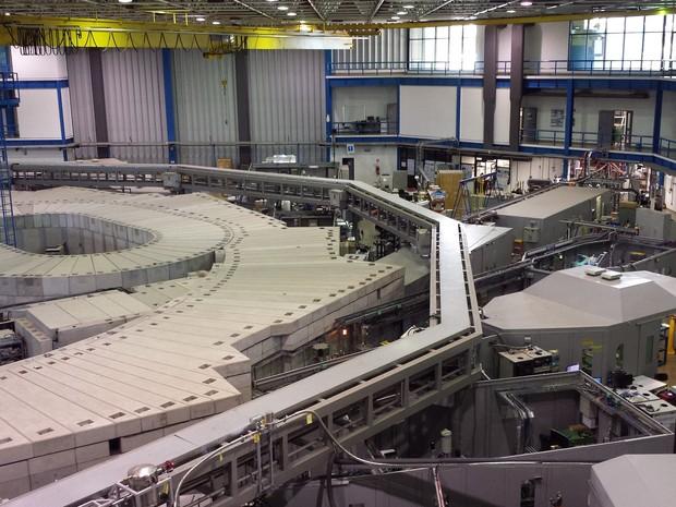 Laboratório Nacional de Luz Síncroton em Campinas (Foto: Roberta Steganha/ G1)