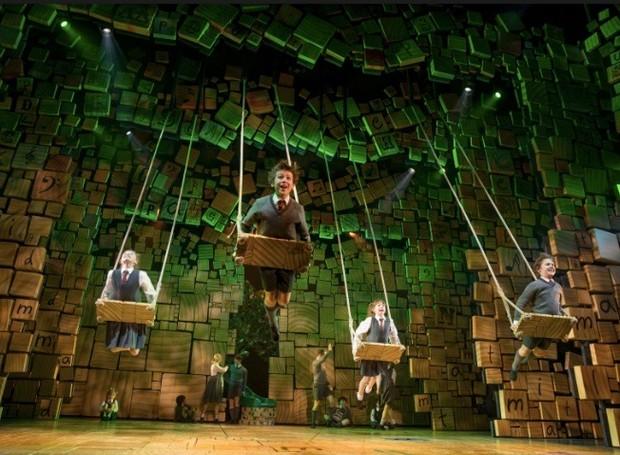 Matilda, na Broadway (Foto: Divulgação)