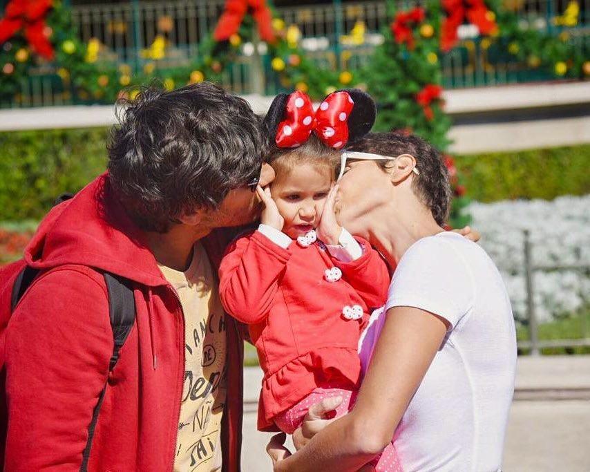 Deborah, Hugo Moura e Maria se divertem em Orlando (Foto: Reprodução/Instagram)