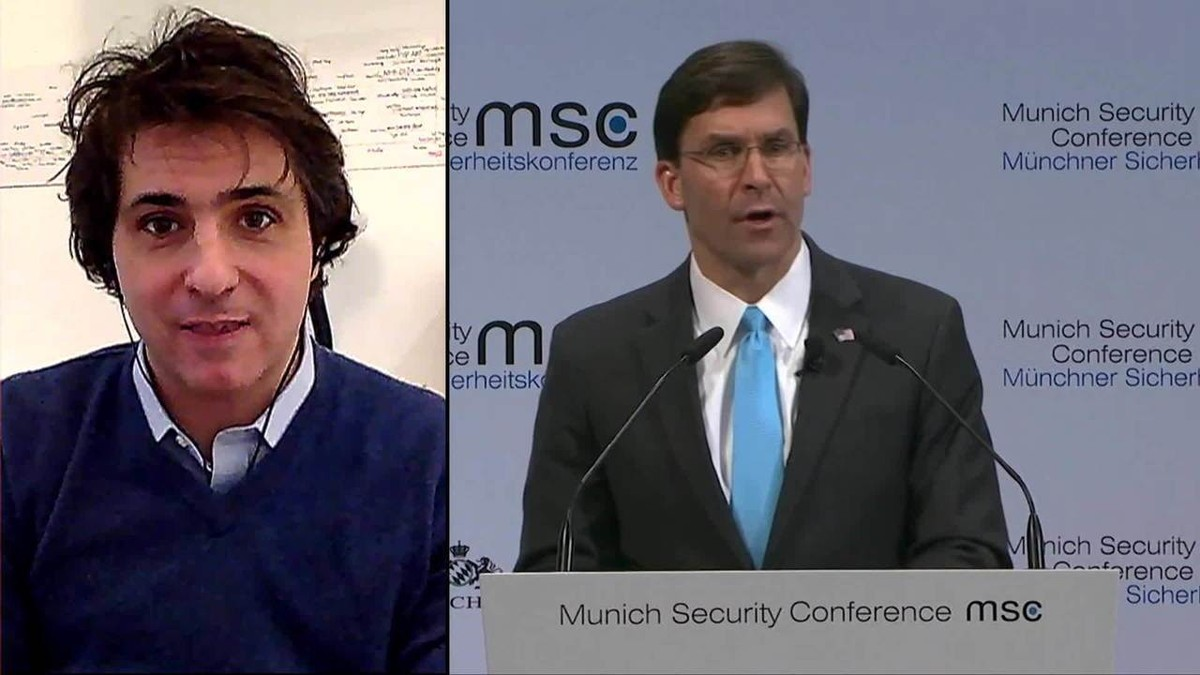 U.S. Defense Secretary says Huawei threatens NATO