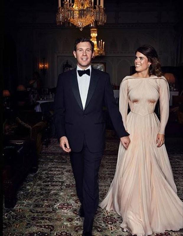 Casamento de Princesa Eugenie e Jack Brooksbank  (Foto: Reprodução/Instagram)