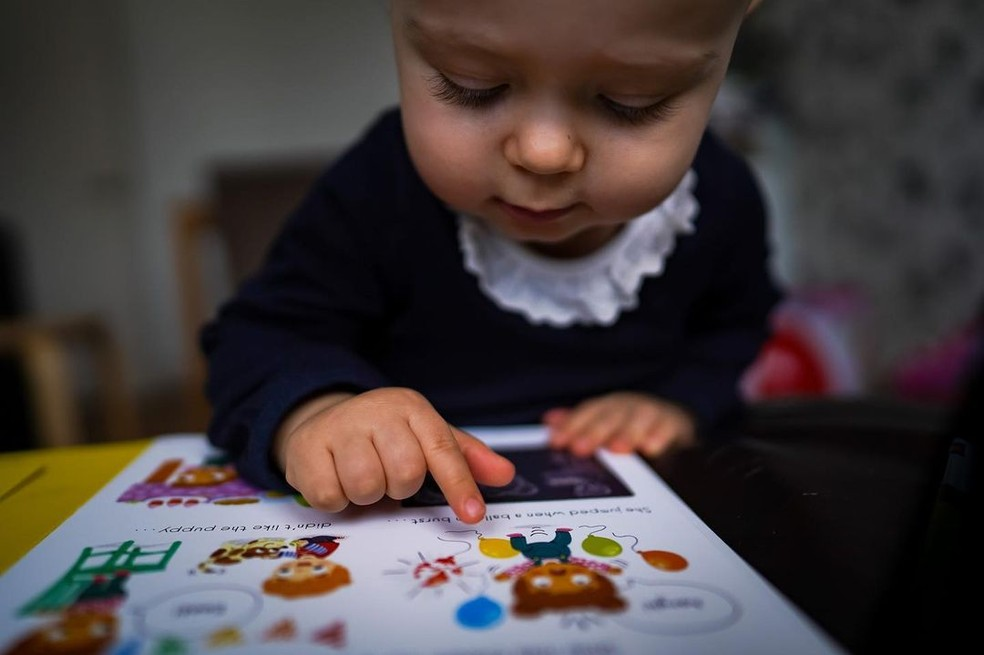 Morgana diz que Alice é uma criança feliz que adora descobrir as coisas — Foto: Reprodução/Instagram