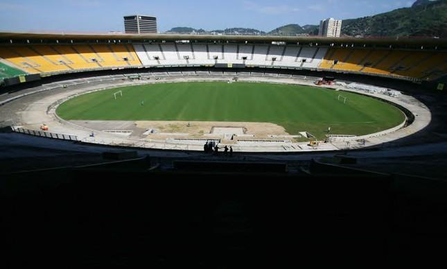 Estragos no Maracanã após as Olimpíadas
