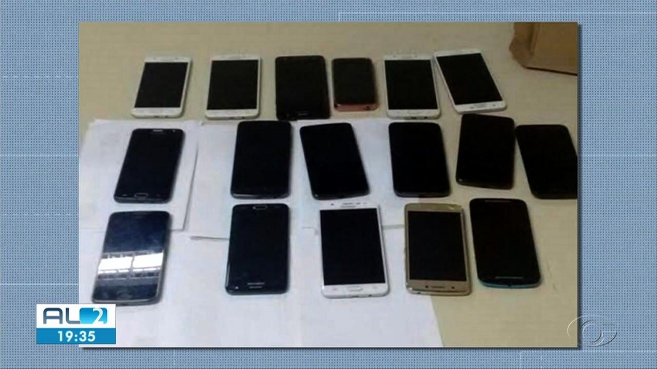 Polícia Civil recupera 40 celulares roubados em Pilar