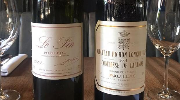 Confusão entre rótulos de vinho no restaurante gerou prejuízo de R$ 20 mil (Foto: Reprodução/Twitter)