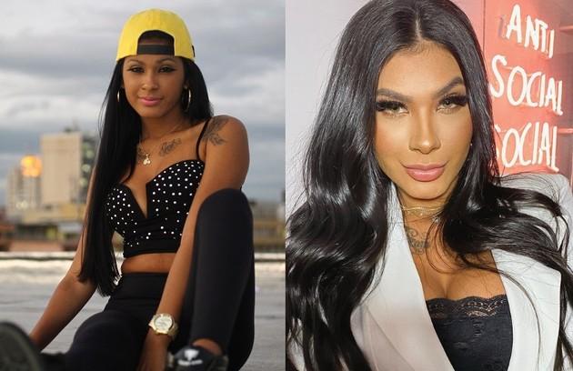 A cantora Viviane Pereira, conhecida como Pocah, começou a despontar em 2013, quando ainda atendia por Mc Pocahontas. A mudança veio em 2019, para marcar uma nova fase da carreira (Foto: Urbano Erbiste/Extra e reprodução)