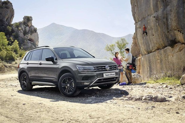 VW Tiguan Offroad oferecida para o mercado russo  (Foto: Divulgação)